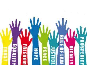 Raise hands