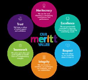 Our Meritt Values