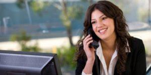 Women calling someone on phone