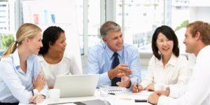 Men and Women Staff Meeting