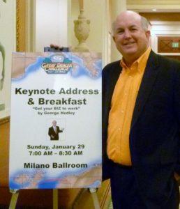 Georgey Hedley Keynote Speaker